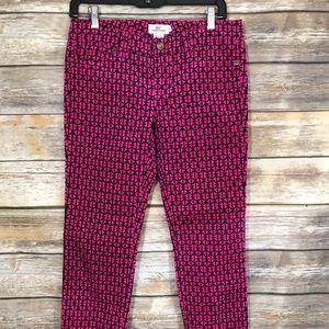 Vineyard Vines Bright Pink  Slim Corduroy Pants